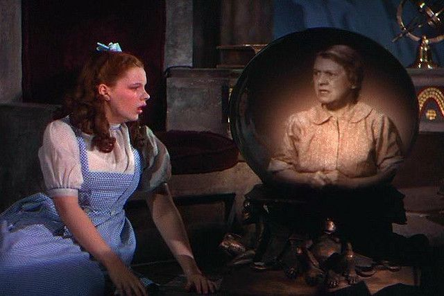 The Wizard of Oz (1939)   Dorothy sees Auntie Em (Clara Blan…   Flickr - Photo Sharing!