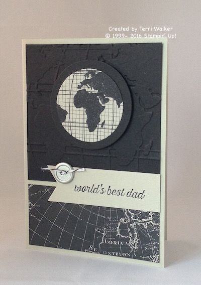 Going Global Father's Day card