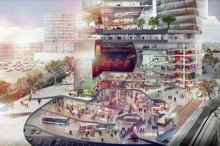 Strathfield Council's vision for Strathfield Square