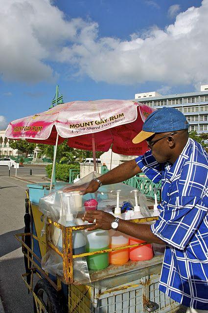 Snow-Cone Man streetfood and drink    -   #schaafijs #snowcones #slushpuppies