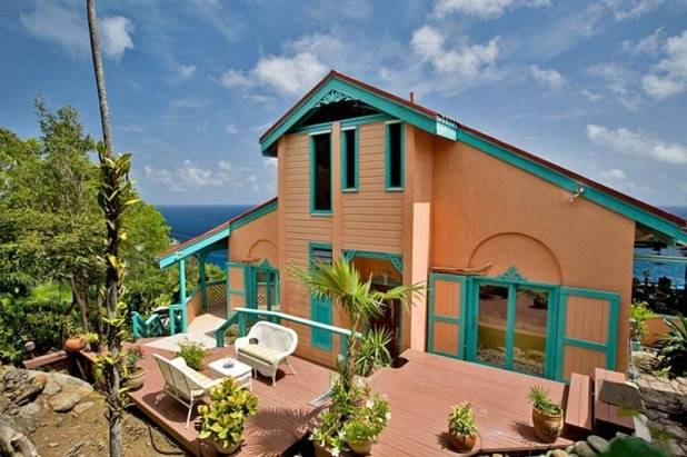 Virgin islands vacation homes