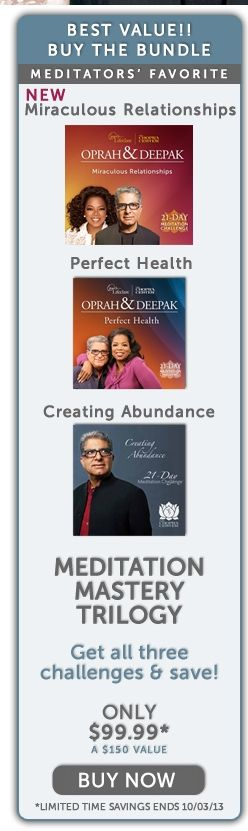 Oprah & Deepak - Miraculous Relationships