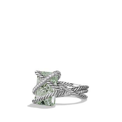 David Yurman - Cable Wrap Ring with Diamonds