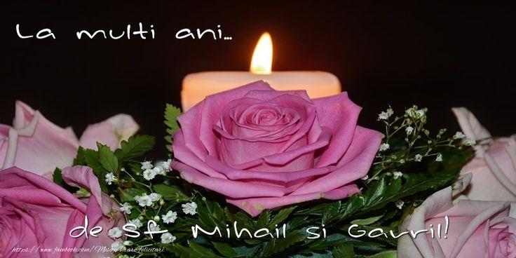La multi ani... de Sf. Mihail si Gavril!