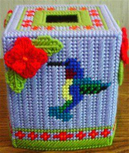 Free Plastic Canvas Tissue Box Patterns   ... of this pattern hummingbird delight boutique tissue pattern 23