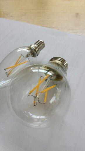 "New ""old"" style LED bulbs"