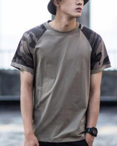 Cool Teen outfit  Camo raglan sleeve t shirt for teenage guys short sleeve baseball tee shirts... Check more at http://24myshop.cf/fashion-style/teen-outfit-camo-raglan-sleeve-t-shirt-for-teenage-guys-short-sleeve-baseball-tee-shirts/