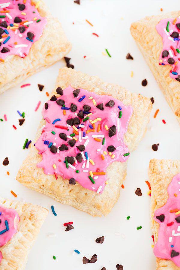 Confetti cookie dough pop tart / Des Pop Art faits maison