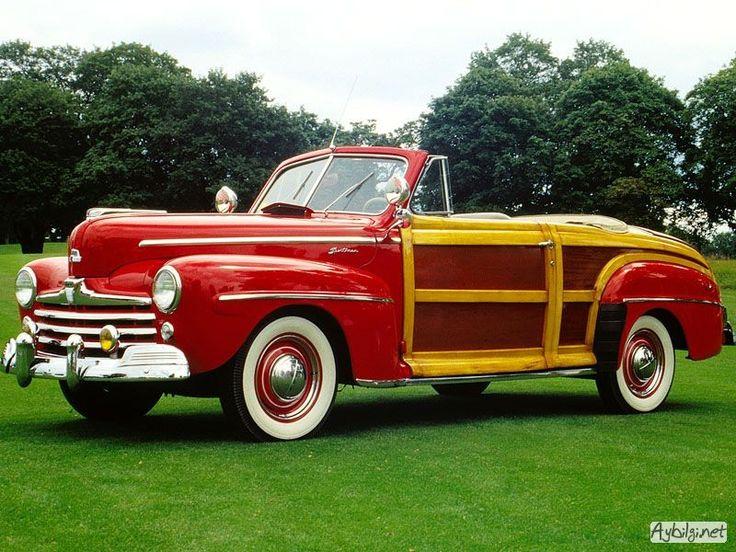 Eski model araba fotoğrafları 50 adet klasik arabalar | Araba ...