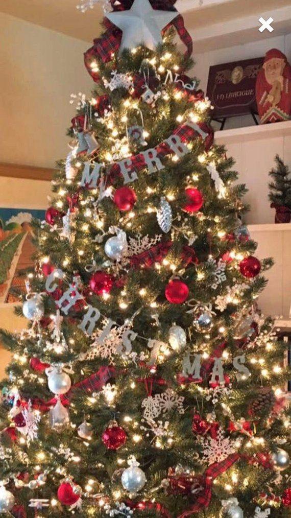 3 merry christmas banner garland christmas handmade etsy christmas tree themes outdoor christmas decorations christmas tree decorations pinterest