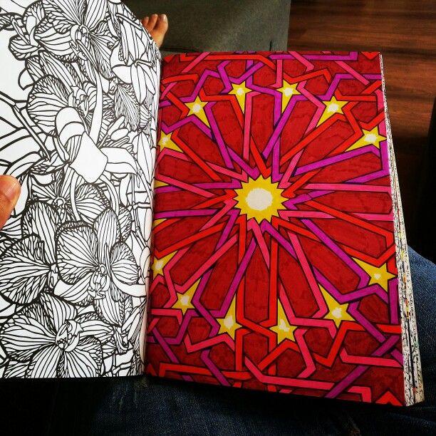 Het Tweede Enige Echte Kleurboek Voor Volwassenen Lijnen En Sterren Free ColoringColoring BooksFree