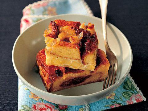 Tatlı Ekmek ve Elma ile Frittata