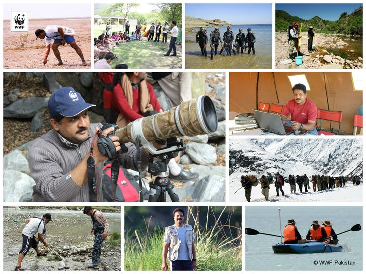 Meet Mubashir Azam, Expedition Officer at WWF-Pakistan. Read his full story of how he has turned his childhood passion for adventure activities into a profession.  http://on.fb.me/1L5ckGX