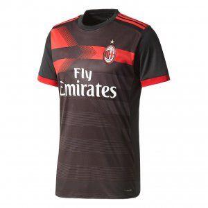 AC Milan 2017-18 Season Third Rossoneri Shirt Jersey [K744]