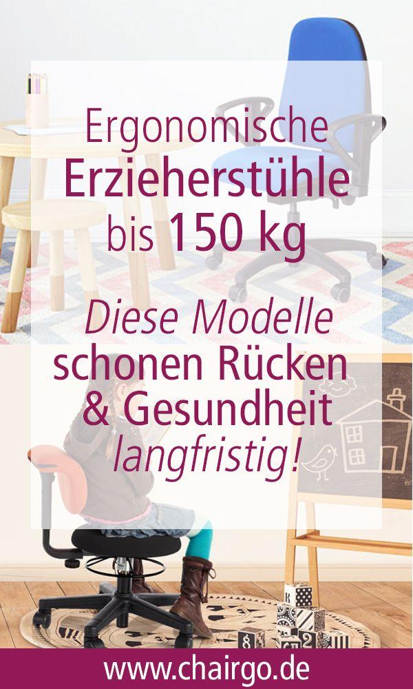 Ergonomischer Erzieherstuhl Bis 150 Kg Jetzt Gs Zertifiziert Chairgo Blog Erzieherin Kindergarten Stuhle Stuhle