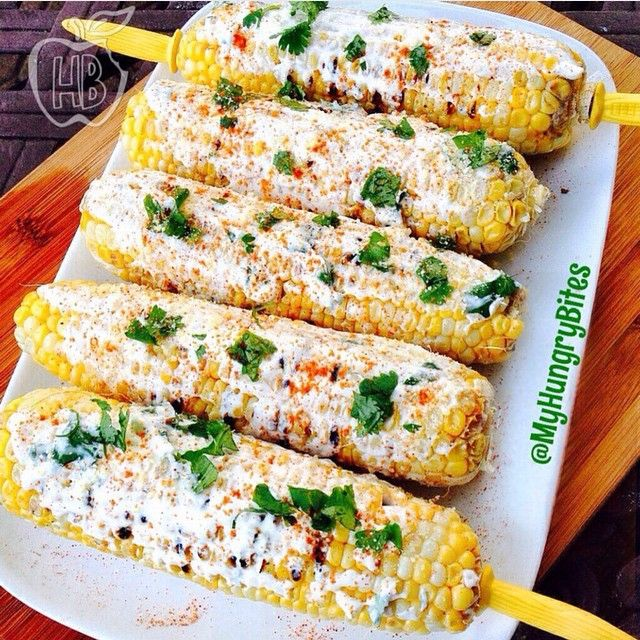 A Cinco De Mayo recipe to try... ELOTES (MEXICAN CORN)! Very quick to make & I healthified it a little by using a mix of soy-free vegenaise & Fage yogurt for the sauce. Here's what you'll need: Corn on the cob (grilled) 1/4 cup Soy-Free Vegenaise 3/4 cups Fage (or sour cream) 1/4 cup chopped cilantro Parmesan (or whatever cheese alternative you want to use) 1 lime Red chili powder Mix Vegenaise, Fage & cilantro in bowl. Spread on top of warm, grilled corn. Then add remaining topping…