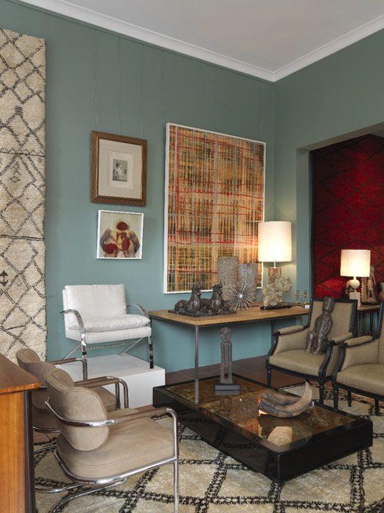 Beautiful Blue Living Room: Wall Colors, Colors Combos, Wall Colour, Man Cave, Color Combos, Calm Colors, Living Room, Colors Ideas