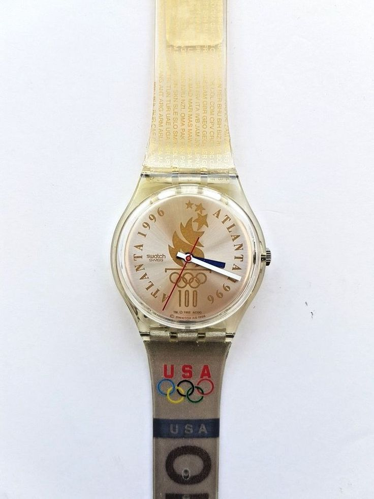 RARE New in Box SWATCH Olympic Specials GZ150J Olympic ...