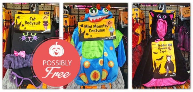 Possibly Free Halloween Costumes at Walgreens!