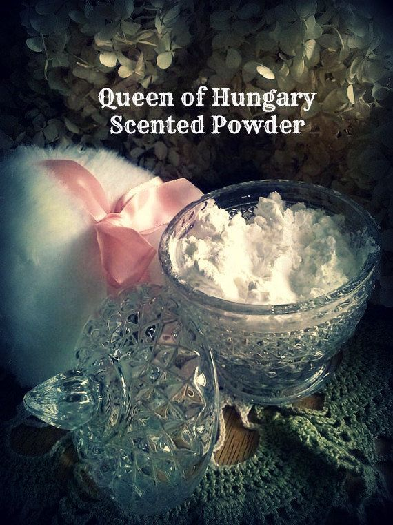 Queen of Hungary Scented Perfumed Powder by NaturesComfortSoapCo