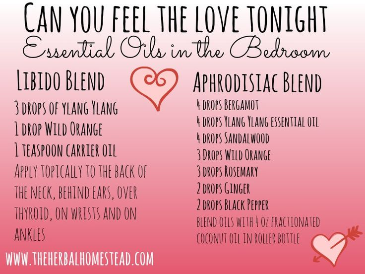 """Can You Feel The Love Tonight"" - Essential Oil Blends in the Bedroom:  It is a romantic time of year and what better way to celebrate your love than with essential oils?"