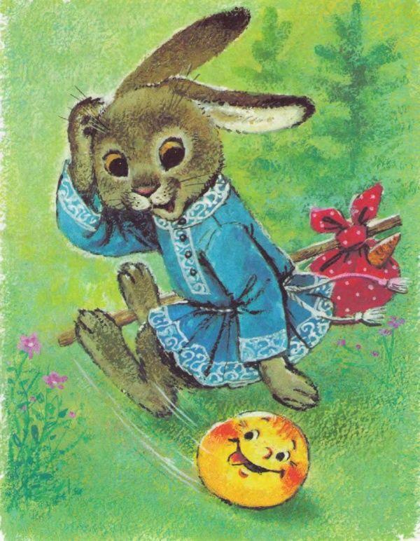 деньги картинка из русских сказок зайчика высота