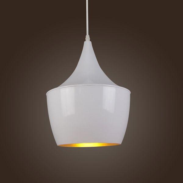 Buy Pendant Light Retro Vintage Tom Dixon Design White Type B with Lowest Price and Top Service!