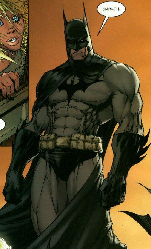 """""""Enough:"""" Batman by Michael Turner"""