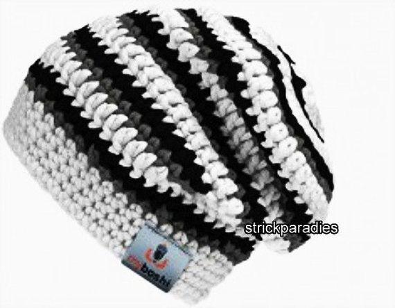 Gehäkelte Beanie MyBoshi Style.Nr.16 von Strickparadies auf Etsy, €30.00