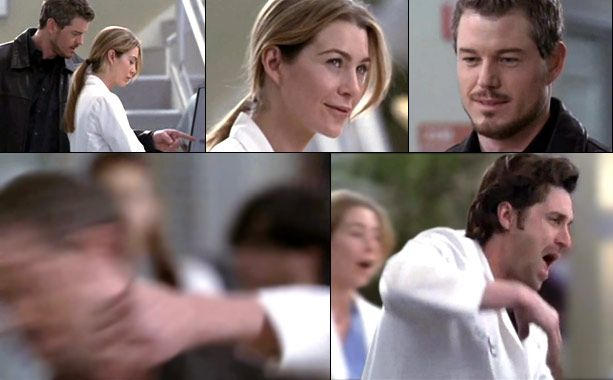 He came in with a bang — to his face. We'd first heard about Mark Sloan in the season 2 opener when Derek told Meredith