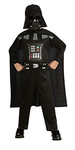 Rubie's Costume Kids Star Wars Episode 3 Darth Vader Costume, Multicolor, Small -- You can find out more details at the link of the image.