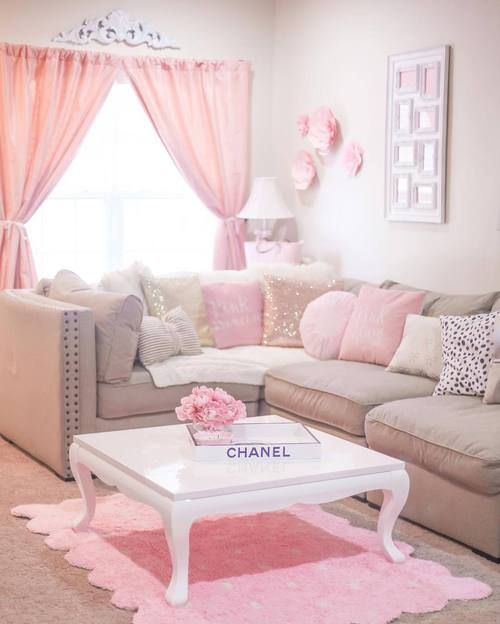 Best 25 Pink Living Rooms Ideas On Pinterest Pink Live Pink Living Room Furniture And Blush