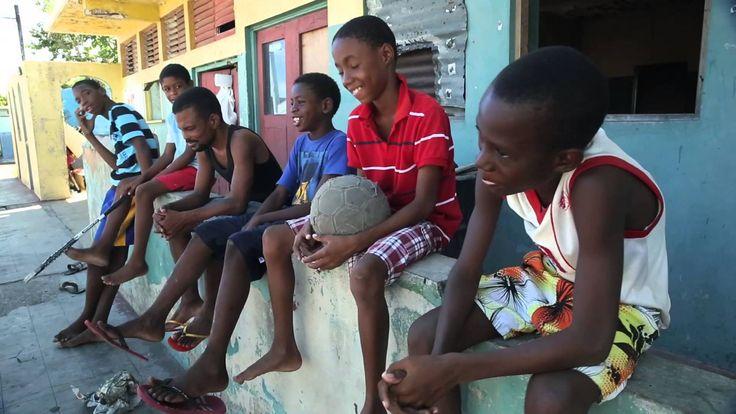 Jamaica - Coca-Cola & FIFA 2014 World Cup Trophy Tour Stop