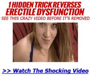 1 Weird Trick Destroys ED