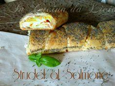Strudel salato al Salmone