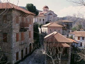 Andritsaina village in Peloponnese