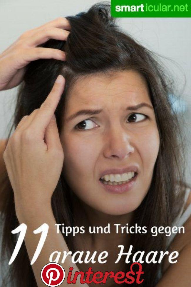 Graue Haare? 13 natürliche und hilfreiche Lösungen | Graue