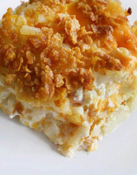 Cheesy Hashbrown Casserole...One of my Favorites! food
