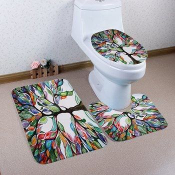 Best Bathroom Mat Sets Ideas On Pinterest Bath Mat - Toilet mat set for bathroom decorating ideas