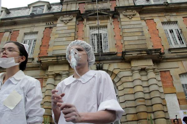 El Hospital San Juan de Dios fue fundado en el siglo XVIII por los Hermanos Hospitalarios de la Orden de San Juan de Dios en el centro bogotano.