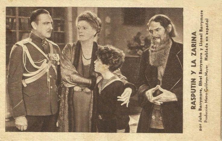 "Rasputín y la zarina (1932) ""Rasputin and the Empress"" de Richard Boleslawski Charles Brabin - tt0023374"