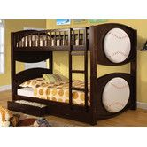 Found it at Wayfair - All-star Twin Over Twin Bunk Bed