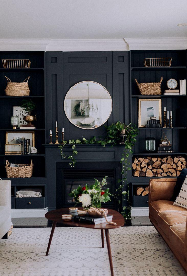 25 Best Deep Paint Colors Moody Living Room Dark Living Rooms Home Living Room Best paint colors for a dark living room