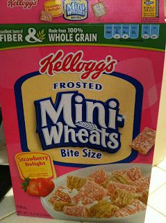 There's not many pre-packaged products that are safe. Frosted mini wheats are though! :) Check your labels, the fruit-filled ones aren't ok, but these are, the regular ones are, and the brown sugar ones are as well. You have to eat them plain since no milk is allowed, but they make a decent snack.