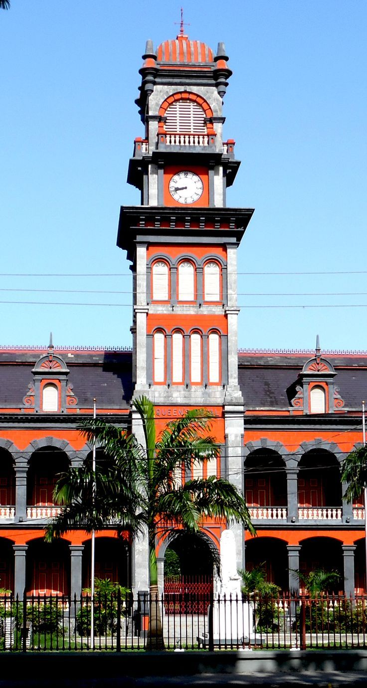 The Magnificent 7 - Port of Spain, Trinidad and Tobago.