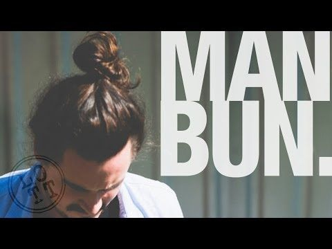 How To do a Man Bun or Top Knot | Men's Hairstyle | Lil Off the Top - YouTube