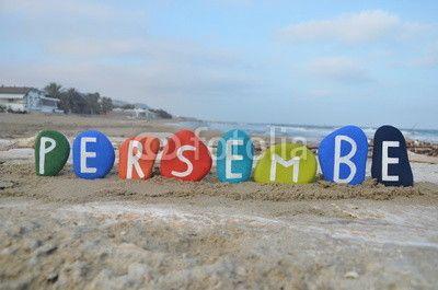 Persembe, thursday in turkish language