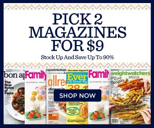 **HOT MAGAZINE SALE** Wow! Get 2 of your fave mags for only $9! There are some magazines that we usually don't see specials on-- ESPN, Dirt Rider, Golf Week and so much more! I am loving Every Day with Rachel Ray!  Click the link below to get all of the details ► http://www.thecouponingcouple.com/discount-mags-get-2-hot-mags-for-only-9/  #Coupons #Couponing #CouponCommunity  Visit us at http://www.thecouponingcouple.com for more great posts!