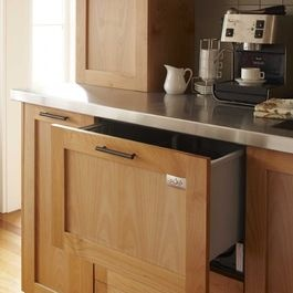 Dishwasher Drawer - eclectic - kitchen - san francisco - Andre Rothblatt Architecture