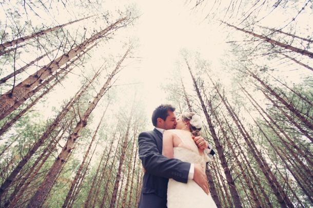 Real Forest Wedding {Marli